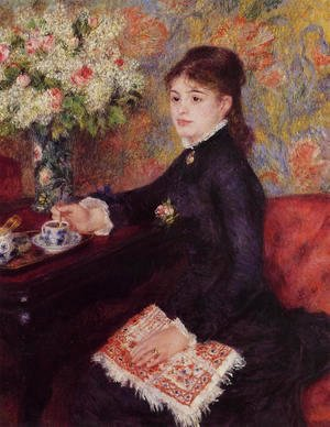 Pierre Auguste Renoir - The Cup of Chocolate