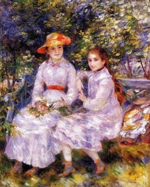 Pierre Auguste Renoir - The Daughters of Paul Durand-Ruel