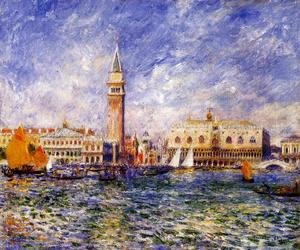 Pierre Auguste Renoir - The Doges' Palace, Venice