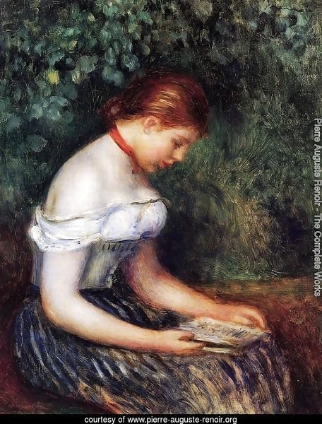 The Reader (Seated Young Woman)
