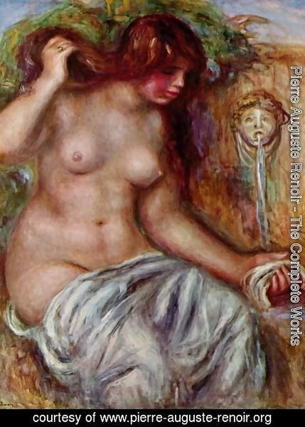 Pierre Auguste Renoir - Woman at the Well