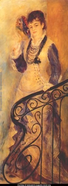 Woman on a Staircase (Femme sur un escalier)
