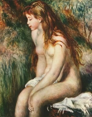 Pierre Auguste Renoir - Young bathers