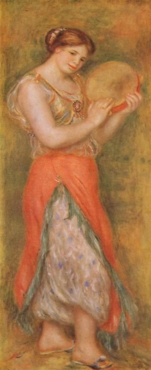 Pierre Auguste Renoir - Dancer with tambourine