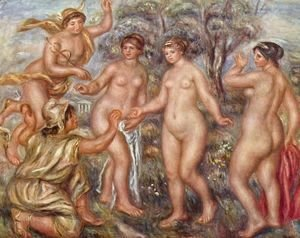Pierre Auguste Renoir - Judgement of Paris