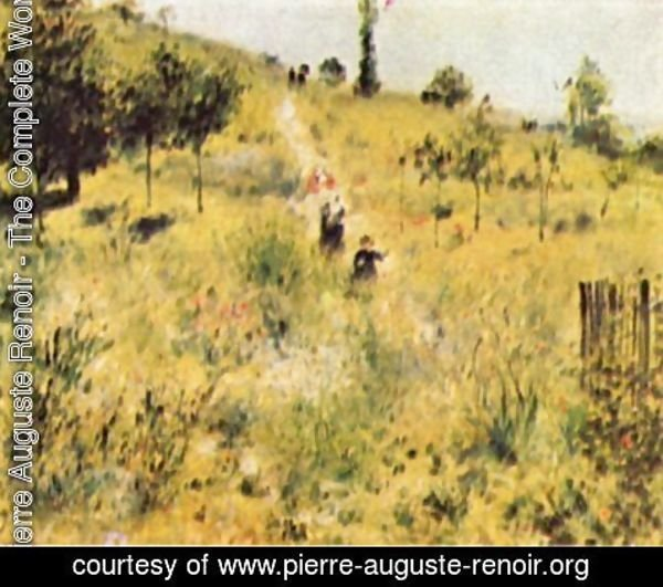 Pierre Auguste Renoir - Meadow way