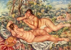 Pierre Auguste Renoir - Peace after the bath