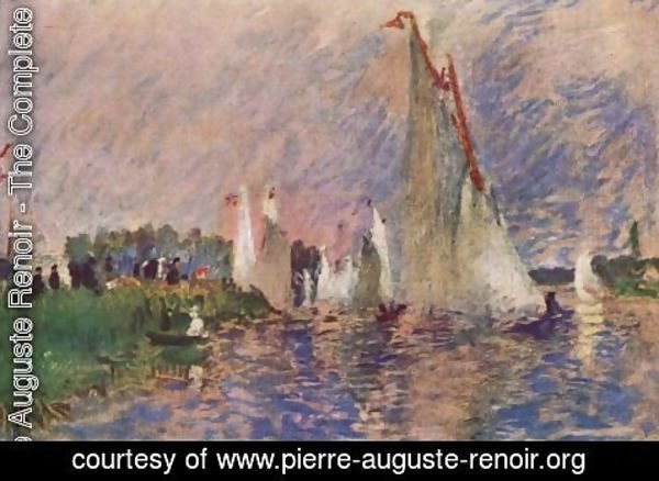 Pierre Auguste Renoir - Regatta at Argenteuil