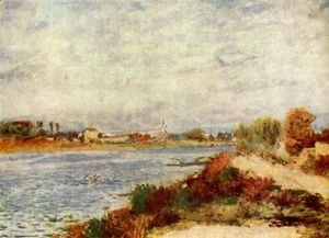 Pierre Auguste Renoir - River at Argenteuil