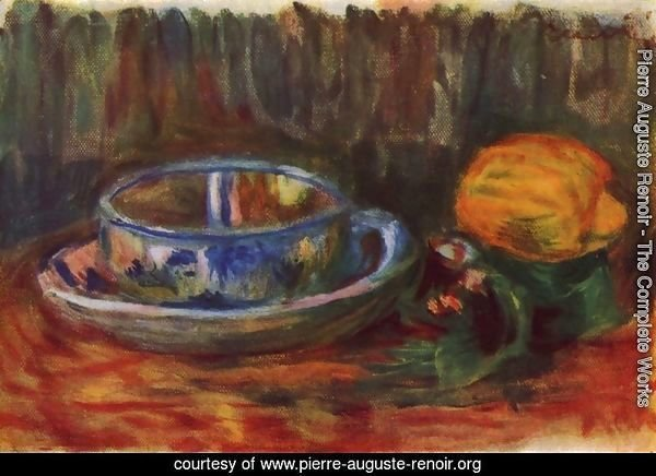 Still life with a cup