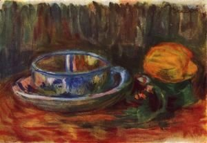 Pierre Auguste Renoir - Still life with a cup