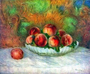 Pierre Auguste Renoir - Still life with fruits
