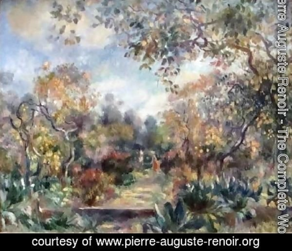 Pierre Auguste Renoir - Landscape at Beaulieu