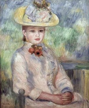Pierre Auguste Renoir The Complete Works Woman Combing