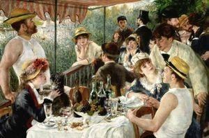Pierre Auguste Renoir - Luncheon of the Boating Party 2
