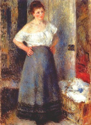 Pierre Auguste Renoir - The Laundress 2