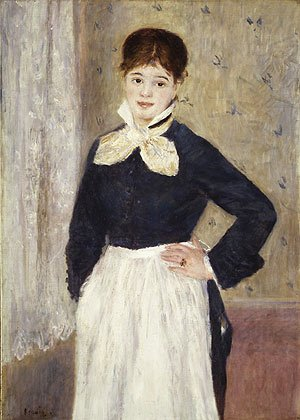Pierre Auguste Renoir - A Waitress at Duval's Restaurant ca. 1875