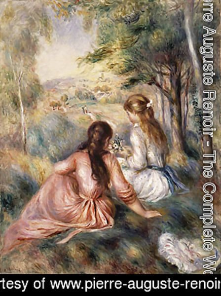 Pierre Auguste Renoir - In the Meadow
