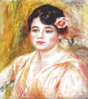 Pierre Auguste Renoir - Portrait of Adele Besson 1918