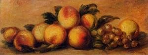 Pierre Auguste Renoir - Still Life with Peaches and Grapes 2
