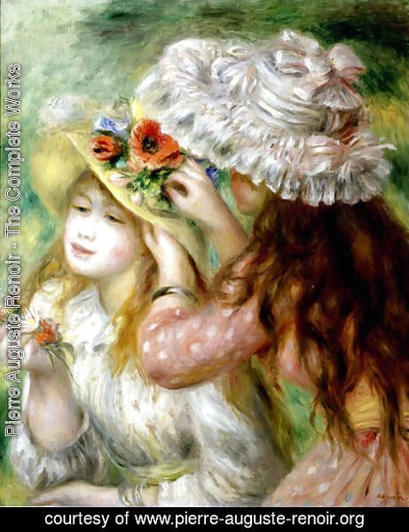 Pierre Auguste Renoir - Summer Hats