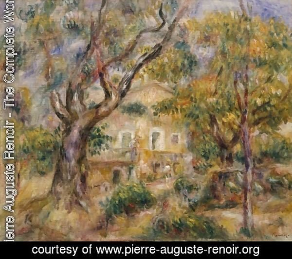 Pierre Auguste Renoir - The Farm at Les Collettes Cagnes