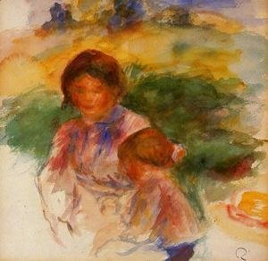 Woman and Child in the Country 1896