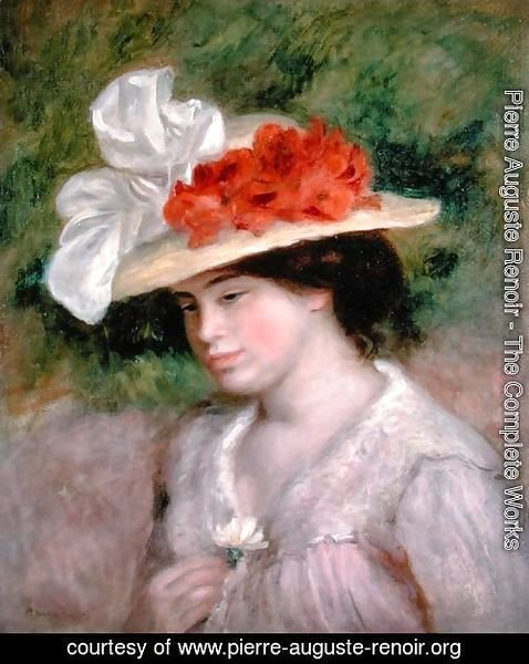 Woman with a Flowery Hat 1899