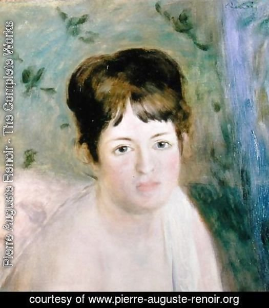 Pierre Auguste Renoir - Woman's Head 1876