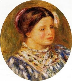 Young Girl in Blue 1912