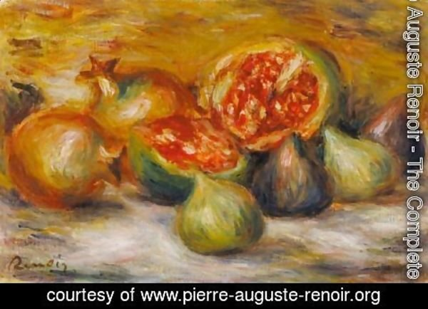 Pierre Auguste Renoir - Nature Morte Aux Figues