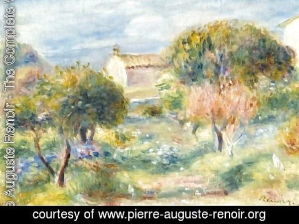 Pierre auguste renoir the complete works allee du for Cabanes du jardin de pierre