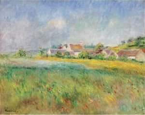 Pierre Auguste Renoir - Le Village De Bonnecourt