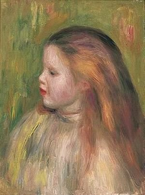 Pierre Auguste Renoir - Portrait of a girl 4