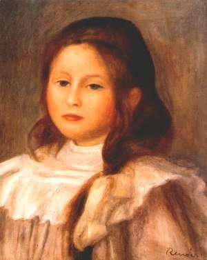 Pierre Auguste Renoir - Portrait Of A Child 2