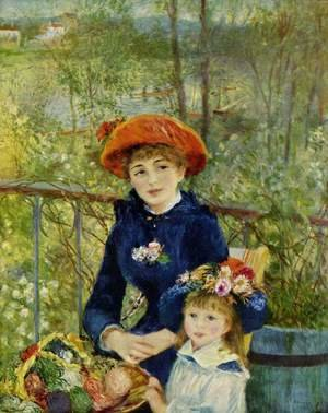 Pierre Auguste Renoir - On the Terrasse