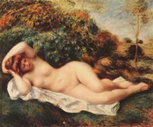 Bathing, sleeping (Badende, schlafend - Die Backerin)