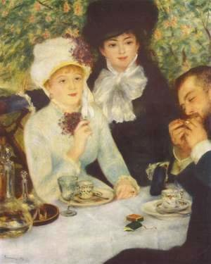 Pierre Auguste Renoir - After the Luncheon