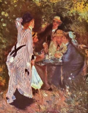 Pierre Auguste Renoir - In the Garden 'Moulin de la Galette'