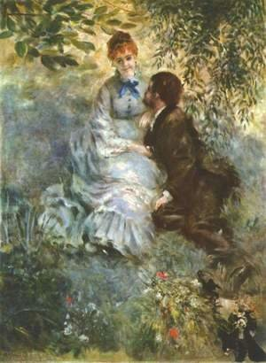 Pierre Auguste Renoir - Lovers