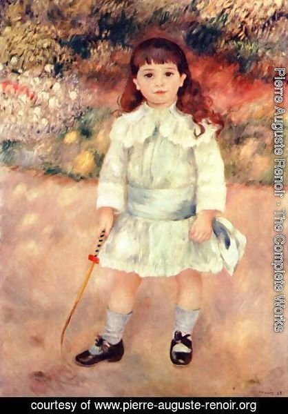 Pierre Auguste Renoir - Girl with whip