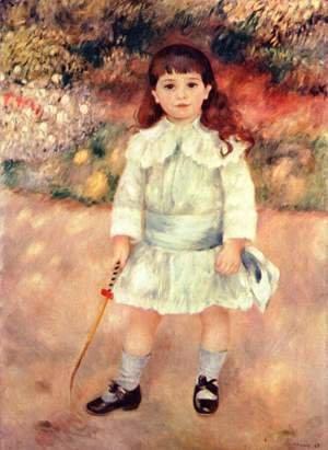 Pierre Auguste Renoir The Complete Works A Garden In