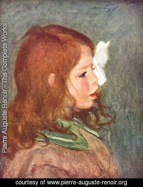 Pierre Auguste Renoir - Portrait of Coco 2