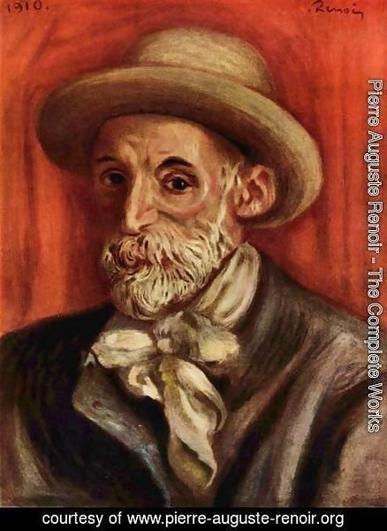 Pierre Auguste Renoir - Self Portrait 3