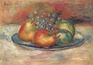 Pierre Auguste Renoir - Still life with fruits 2