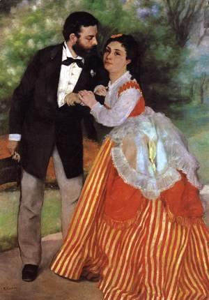 Pierre Auguste Renoir - The Engaged Couple
