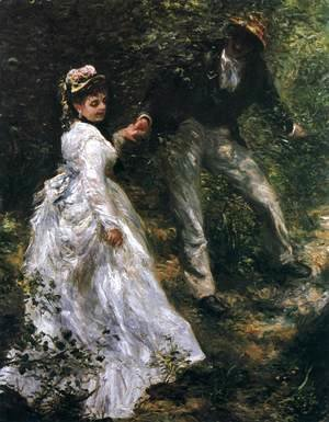 Pierre Auguste Renoir - The Walk