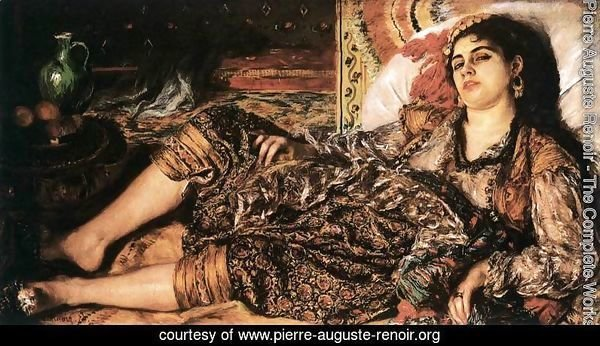 Odalisque (Woman of Algiers)
