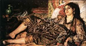 Pierre Auguste Renoir - Odalisque (Woman of Algiers)