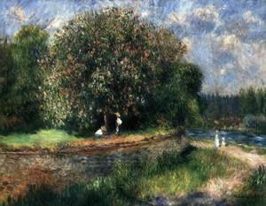 Pierre Auguste Renoir - Blossoming Chestnut Tree